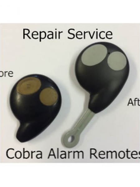 Cobra Alarm 2 Button Key Fob Repair Service
